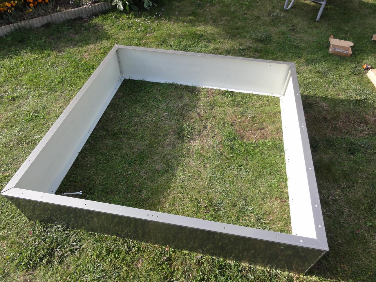 kaminholzregal metall 1 9 m x 1 5 m lackiert. Black Bedroom Furniture Sets. Home Design Ideas