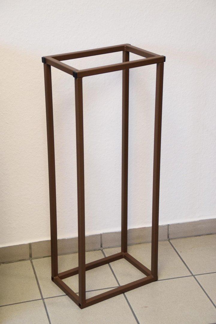 kaminholzregal innen stab plan 1500x350 aus metall. Black Bedroom Furniture Sets. Home Design Ideas