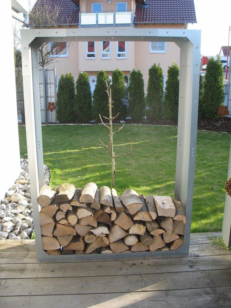 Holzaufbewahrung Außen brennholzregal ambiznes com