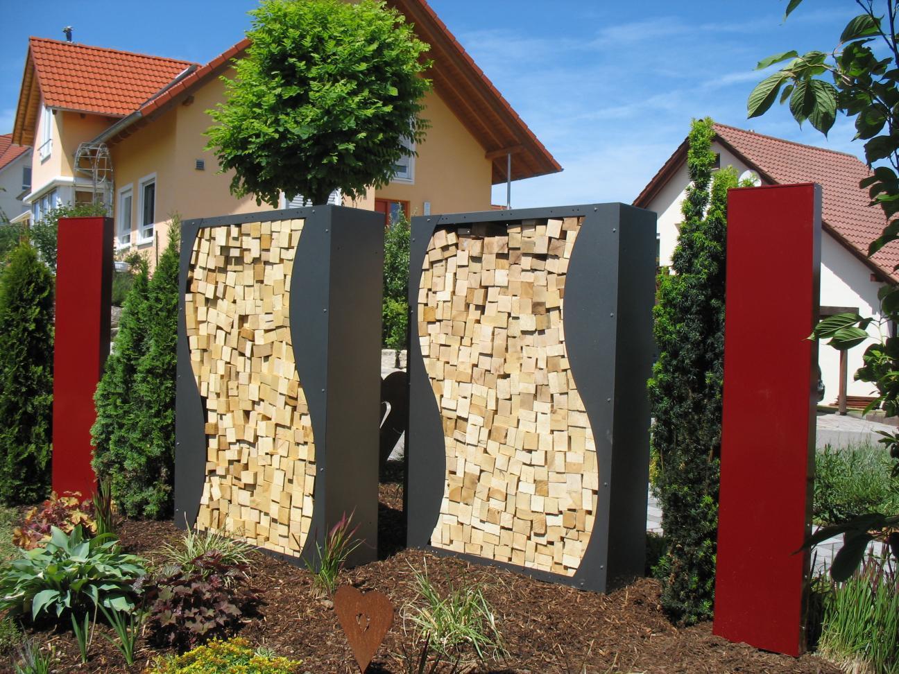 kaminholzregal metall 1 9 m x 1 0 m farbe nach ral karte. Black Bedroom Furniture Sets. Home Design Ideas