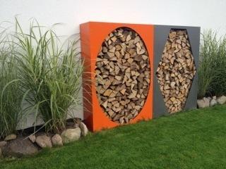 kaminholzregal metall 1 9 m x 1 7 m farbe nach ral karte. Black Bedroom Furniture Sets. Home Design Ideas