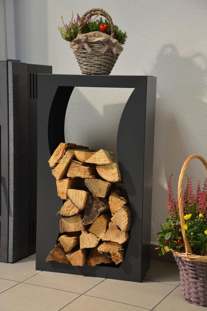 kaminholzregal metall welle innenbereich regal aus metall. Black Bedroom Furniture Sets. Home Design Ideas