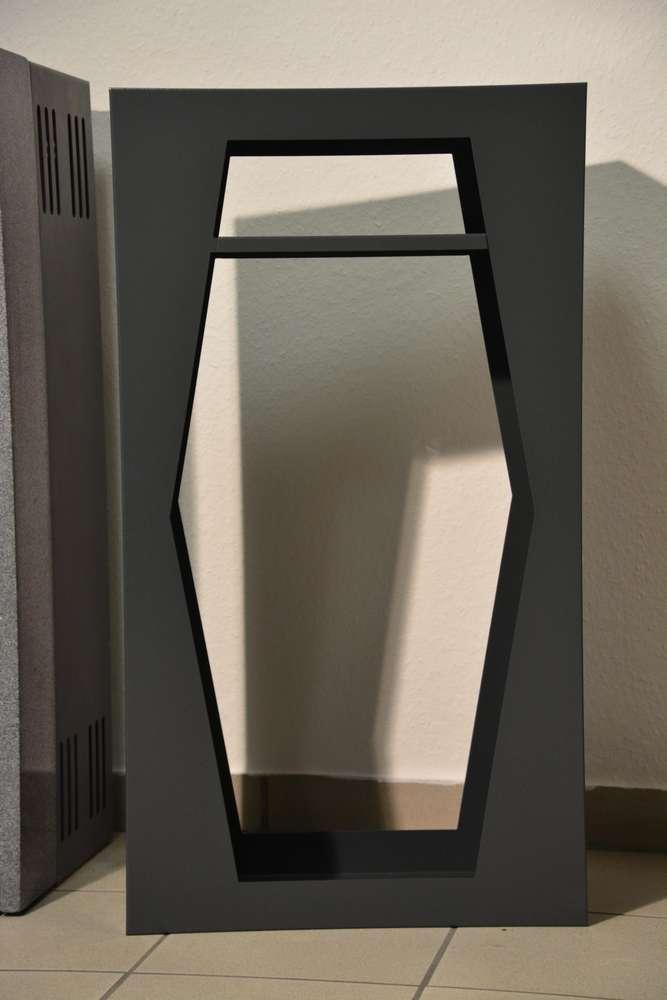 kaminholzregal wohnzimmer. Black Bedroom Furniture Sets. Home Design Ideas