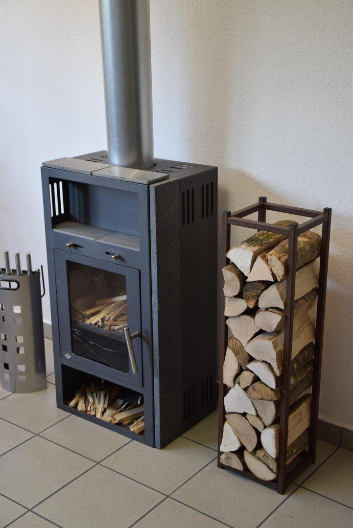 kaminholzregal innen stab 900x250 aus metall. Black Bedroom Furniture Sets. Home Design Ideas