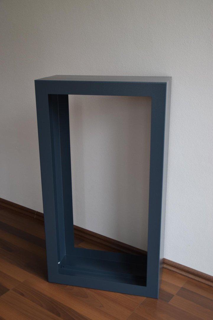Brennholzregal innenbereich  Kaminholzregal Rechteck Innenbereich aus Metall