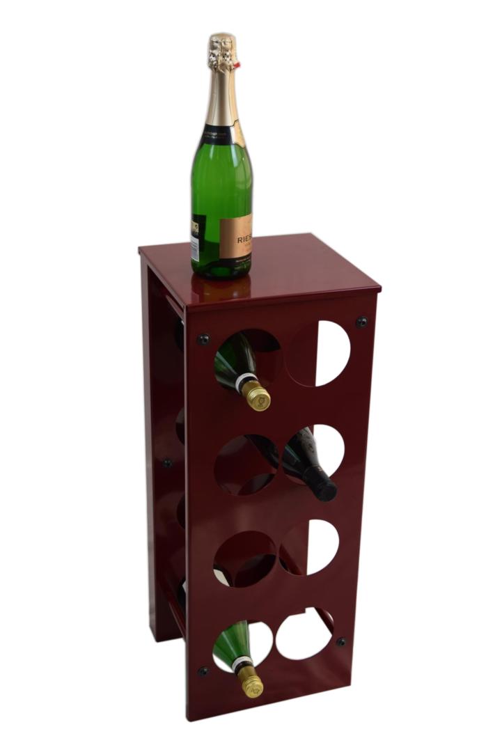 weinregal flaschenregal vino aus metall h he 68 cm 8 16 flaschen. Black Bedroom Furniture Sets. Home Design Ideas